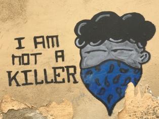 Street artist Mo.