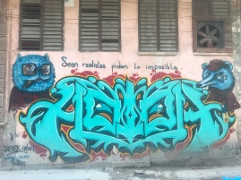 Cuba loves graf homies.