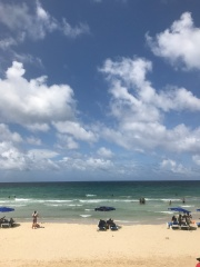 Playa Tropicoco, about 20 minutes from Havana